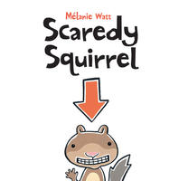 Book Cover Scaredy Squirrel