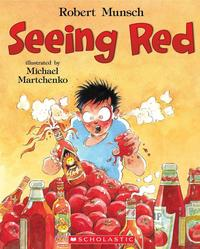 Book Cover Seeing Red