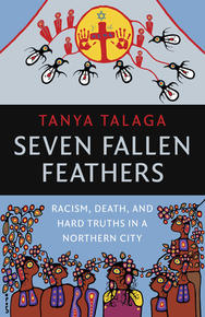 Book Cover Seven Fallen Feathers