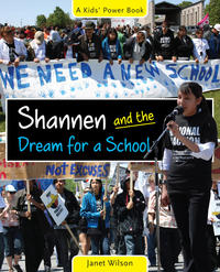 Book Cover Shannen and the Dream for a School