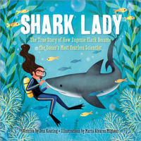 Book Cover Shark Lady