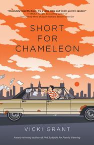 Book Cover Short for Chameleon