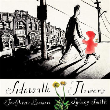 Book Cover Sidewalk Flowers