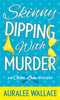Book Cover Skinny Dipping With Murder