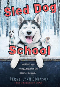 Book Cover Sled Dog School