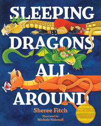 Book Cover Sleeping Dragons All Around