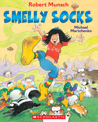 Book Cover Smelly Socks