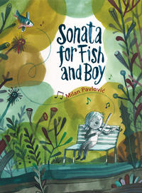 Book Cover Sonata For Fish and Boy