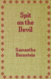Book Cover Spit on the DEvil
