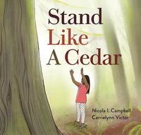 Book Cover Stand Like a Cedar