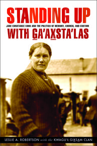 Book Cover Standing Up with Ga'axsta'las
