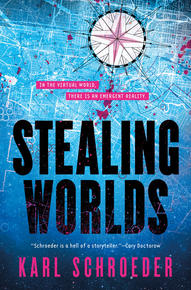 Book Cover Stealing Worlds