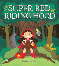 Book Cover Super Red Riding Hood