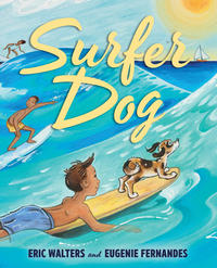Book Cover Surfer Dog