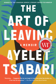 Book Cover the art of Leaving