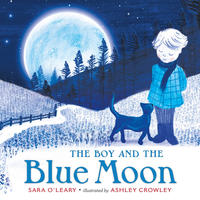 Book Cover the Boy and the Blue Moon