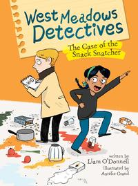 Book Cover The Case of the Snack Snatcher