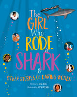 book cover the girl who rode a shark