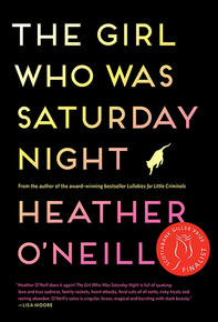 Book Cover The Girl Who Was Saturday Night