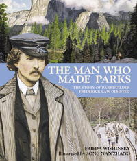Book Cover The Man Who Made Parks