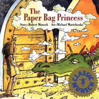 Book Cover The Paper Bag Princess