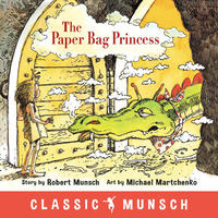 Book Cover The Paper Bag Princess