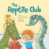 Book Cover The Reptile Club