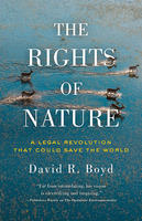 Book Cover the Rights of Nature