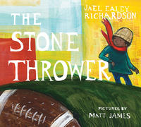 book Cover the stone thower
