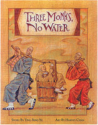 Book Cover Three Monks, No Water