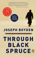 Book Cover Through Black Spruce