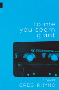 Book Cover To Me You Seem Giant
