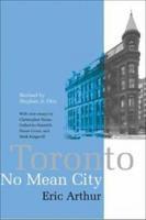 Book Cover Toronto No Mean City