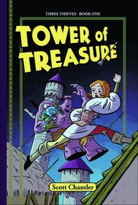 Book Cover Tower of Treasure