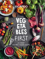 Book Cover Vegetables First