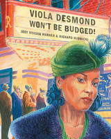 book cover viola desmond won't be budged