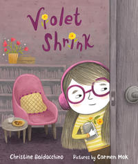 Book Cover Violet Shrink