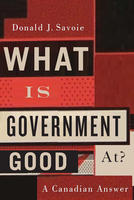 Book Cover What Is Government Good At