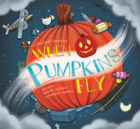 Book Cover When Pumpkins Fly
