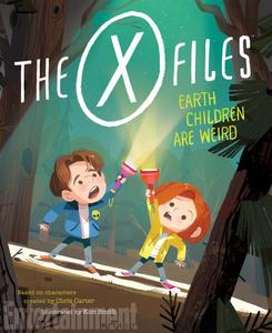 Book Cover X-Files Earth Children are WEird