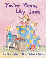 Book Cover You're Mean Lily Jean