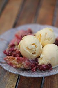 Dulce de Leche Buttermilk Ice Cream