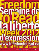 Freedom to Read Week Poster 2012