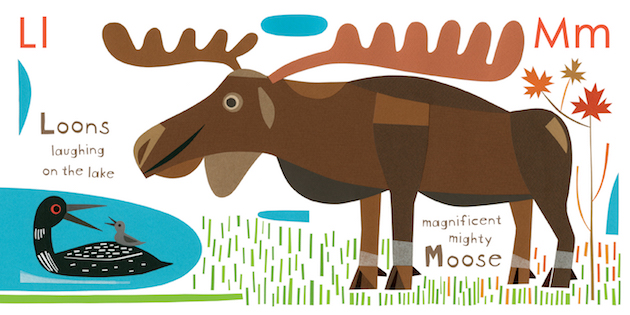Geraldo Valério Moose Goose Loose Illustration