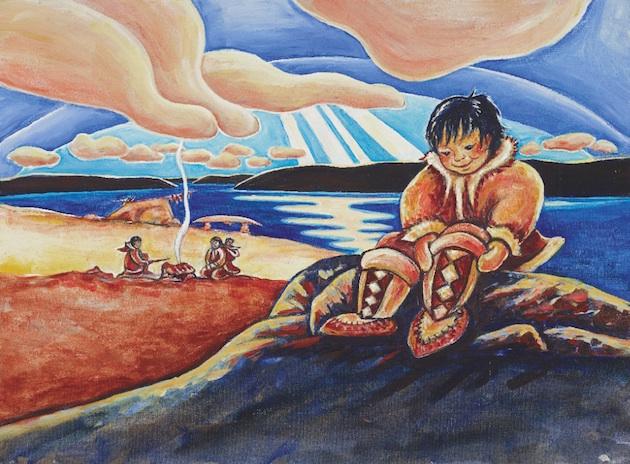 Inuksuk by Mary Wallace