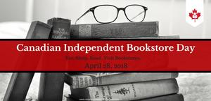 Logo Canadian Independent Bookstore Day