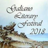 Logo Galiano Literary Festival 2018