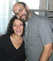 Rebecca Rosenblum and Mark Sampson, writer couple.