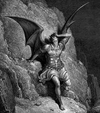 Satan depicted in Milton's Paradise Lost