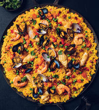 Seafood and Chorizo Paella from GATHER